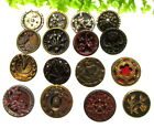 BEAUTIFUL LOT OF VICTORIAN METAL BUTTONS ~PEARL~CUT STEEL ++ H83