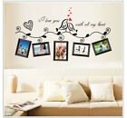 NEW Family Tree Wall Decal Sticker Large Vinyl Photo Picture Frame Removable