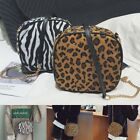 Women Ladies Bag Handbag Leopard Zebra Animal Print Shoulder Chic Satchel Chain