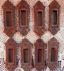 Antique Vintage Cast Iron Ornate Victorian late 1800s Window Sash Pulls Lifts 8