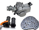 49CC 50CC 2 STROKE ENGINE MOTOR Mini POCKET PIT BIKE SCOOTER ATV QUAD + Parts US
