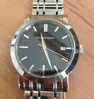 Burberry Heritage Men's Watch with Black Dial Face BU1364