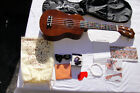 ADM 21 ECONOMIC SOPRANO UKULELE START PACK with BAGSTRAPPICKS +MORE