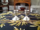 Pair of Sterling Silver DUCHIN CREATION WEIGHTED CANDLESTICKS