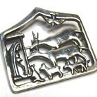 Museum of Fine Art MFA 1 3 8 Sterling Silver Nativity Scene Brooch Pin