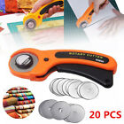 New 20PCS 45mm Rotary Cutter Refill Blades Quilters Sewing Fabric Cutting Tools
