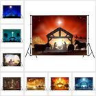 Holy Night Star Jesus Nativity Manger 10X8FT Vinyl Studio Backdrop Background LB