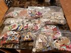 HUGE Lot Of Chipboard letters frames numbers phrases
