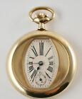 Beautiful Pax -taschenuhr with Hand Wound, Case Gold-Plated Metal, Swiss Made. (