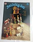 RARE UnCut 1973 Whitman Nativity Set Punch Cut Out Manger Scene Book 1907