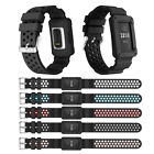 Super cool Replace waterproof Silicone Strap Wrist Band+Frame for Fitbit Charge3