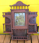 STICK WALL MOUNT HANGING CURIO CABINET