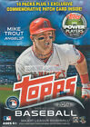 2014 Topps Baseball Series 1 Unopened Blaster Box BONUS Commemorative Patch Card