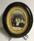 Gesso Oval Picture Frame ~14