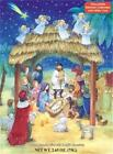 Chocolate Advent Countdown Calendar Manger Jesus Nativity B105 Door a Day