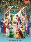 Chocolate Advent Countdown Calendar ALLELUIA Nativity B125 Pop a Door a Day