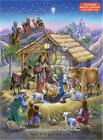 Chocolate Advent Countdown Calendar Peaceful Prince Nativity B115 Pop a Door
