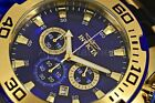 22313 Invicta Men's Pro Diver Chrono 100m Stainless Steel/Black Silicone Watch