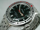 VOSTOK RUSSIAN  AUTO AMPHIBIAN  DIVER WATCH #0269a  NEW