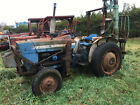 Ford 3000 loader tractor 2wd with rear mounted forklift