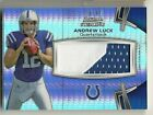 2012 Bowman Sterling Andrew Luck RC Patch Prizm Refractor 2 color #36 47