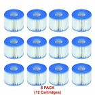 Intex Replacement Filter Cartridges Pool Spa Water Filters Hot Tub Parts 12 Pack
