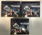 Lot of 3 2005 Topps Doctor Who Factory Sealed Hobby Box Boxes (B)