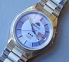 ORIENT Crystal 21 Jewels Automatic Wristwatch - All Stainless Steel (Lot W78)