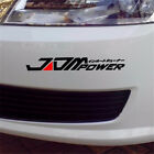 JDM POWER Car Truck Bumper Sticker Decal For Toyota Honda Volkswagen Mitsubishi