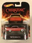 Hot Wheels 2014 Retro Entertainment Christine 1958 Plymouth Fury Red Color w RR