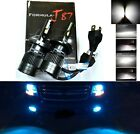 LED Kit C6 36W 9003 HB2 H4 10000K Blue One Bulb Head Light Replace Motorcycle