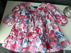 Baby Girls Pumpkin Patch Pink Floral Dress Size 3 6 Months Long Sleeves