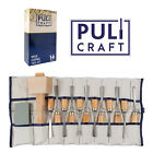 Wood Carving Tools Chisel Set 14 piece Heavy Duty Woodworking Kit with Carry