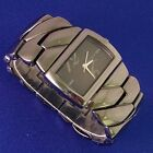 DKNY Women's Watch Silver Graphite Case, Dial & Stainless Steel Band NY-4232-