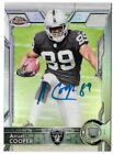 AMARI COOPER 2015 TOPPS CHROME ROOKIE VARIATION AUTOGRAPH REFRACTOR CARD #4 25!