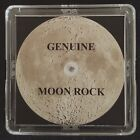 BASIC EDITION AUTHENTICATED LUNAR METEORITE 5mg Moon Rock Display+Certificate