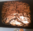 Wooden Box with Copper Horse on Top, Country and Western, Storage Box, Stash Box