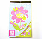 Sticker Book BUTTERFLY GARDEN Butterflies Flowers 194 pieces