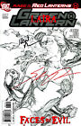 GREEN LANTERN 37 RED LANTERNS VARIANT EDITION SIGNED IVAN REIS