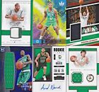 LOT of (6) Boston Celtics NBA Game Used Jersey Patch Rookie Relic AUTO RC 75