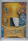 KARL-ANTHONY TOWNS RC 4 COL PATCH AUTOGRAPH # 25 2015-16 GOLD STANDARD AUTO