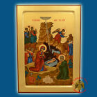 Orthodox Icon Nativity Christmas Orthodoxe Ikone Weihnachten Geburt Jesu Christi