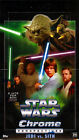2015 TOPPS STAR WARS CHROME PERSEPECTIVES: JEDI VS SITH HOBBY BOX FACTORY SEALED