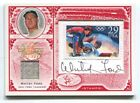 2005 LEAF CENTURY STAMP OLYMPIC AUTO RELIC #15 WHITEY FORD YANKEES 9 16