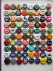 Huge Lot of 80 Different Used Beer Bottle Caps Microbrews Included