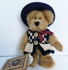 2000 FOB AUTHENTIC BOYDS BEAR PLUSH JOINTED CAITLIN BERRIWEATHER 2 #1364 6 INCH