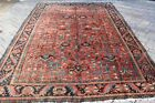 Antique Persian Heriz Carpet 8'8'' x 11'11''