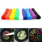 36pcs Wheel Spoke Wraps Rims Skins Cover Guard Protection Motocross Dirt Bike