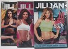 Lot Of 3 Jillian Michaels Workout Fitness DVDs 10 Minute Body Ripped In 30 Shred