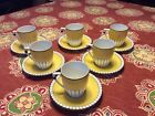 Vintage Rudolstadt German Cup/Saucer Set, Art Deco, Espresso Or Hot Chocolate.